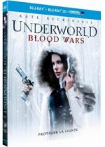 Jaquette Underworld : Blood Wars (Combo Blu-ray 3D + Blu-ray + Copie digitale)