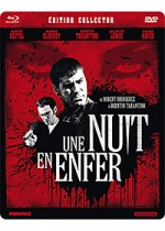 Jaquette Une Nuit en enfer (�dition Collector Blu-ray + DVD)