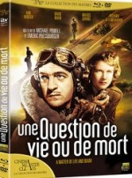 Jaquette Une Question de Vie ou de Mort (Combo Blu-ray + DVD)