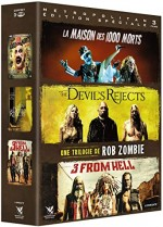 Jaquette Une trilogie de Rob Zombie : La Maison des 1000 morts + The Devil's Rejects + 3 From Hell