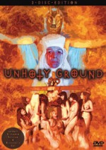 Jaquette Unholy Ground
