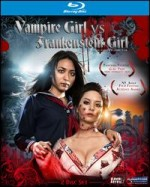 Jaquette Vampire Girl vs Frankenstein Girl
