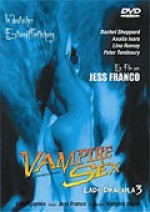 Jaquette VAMPIRE SEX - LADY DRACULA 3 EPUISE/OUT OF PRINT