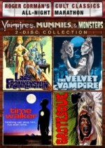 Jaquette Vampires, Mummies And Monsters Collection DVD