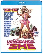 Jaquette Vengeance of She