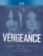Jaquette Vengeance Trilogy (Sympathy for Mr. Vengeance / Oldboy / Lady Vengeance)