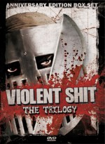Jaquette Violent Shit Trilogy (Anniversary edition Box)