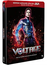 Jaquette Voltage (�dition Ultimate Blu-ray 3D + Blu-ray + DVD)