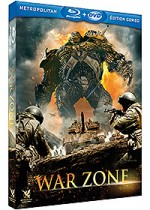Jaquette War Zone (Combo Blu-ray + DVD)