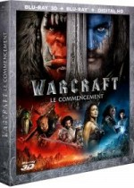 Jaquette Warcraft : le commencement (Combo Blu-ray 3D + Blu-ray + Copie digitale)