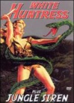 Jaquette WHITE HUNTRESS AND JUNGLE SIREN DOUBLE FEATURE