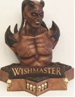 Jaquette Wishmaster  (Blu-Ray+DVD) - Büste inkl. Mediabook - Limited 555 Edition EPUISE/OUT OF PRINT
