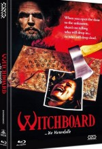 Jaquette Witchboard - Die Hexenfalle  - Cover C (DVD + BLURAY)