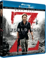 Jaquette World War Z (Combo Blu-ray + DVD - Version longue inédite)
