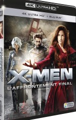 Jaquette X-Men - L'affrontement final - 4K Ultra HD + Blu-ray