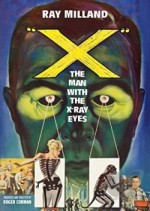 Jaquette X: The Man with the X-Ray Eyes