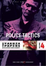 Jaquette YAKUZA PAPERS VOL4 POLICE TACTICS