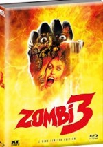 Jaquette Zombie 3  (Blu-ray + DVD)