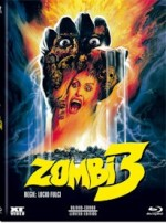 Jaquette Zombie 3  (Blu-ray + DVD) - Cover A