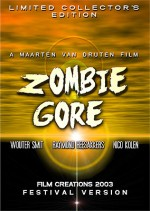 Jaquette Zombie Gore EPUISE/OUT OF PRINT