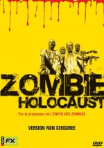 Jaquette ZOMBIE HOLOCAUST EPUISE/OUT OF PRINT