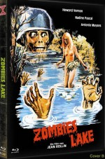 Jaquette Zombie Lake (Cover B - DVD + Bluray)