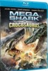 Pochette Mega Shark vs Crocosaurus - BLURAY  Zone B