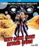 Pochette They Came from Beyond Space - BLURAY  Zone A