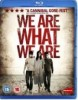 Pochette We Are What We Are - BLURAY  Zone A